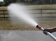 Argo Water Trailer Fire Hose