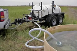 fill your water tank from a variety of sources
