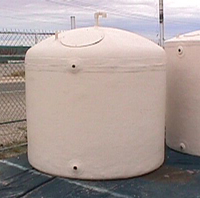 above ground fiberglass tank