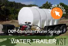 Argo Water Tank Trailer