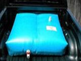 pickup truck water storage tank