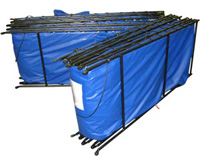 folding frame tanks