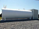 steel fire protection tank