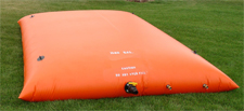 rainwater storage pillow