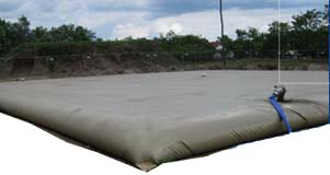 flexible frac tank