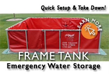 Folding Frame Water Tanks