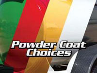 Fuel Trailer Powder Coat Finish Colors