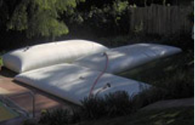 gray water pillow tanks