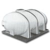 plastic elliptical tanks