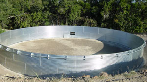 corrugated frac tanks