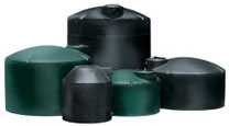 large plastic water storage tanks