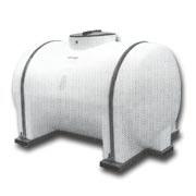 horizontal round storage tank