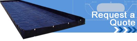 aluminum angle spill berms