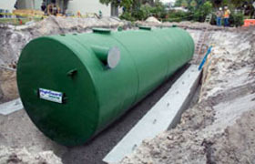 steel rainwater collection tanks