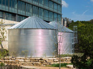 corrugated tanks for stormwater