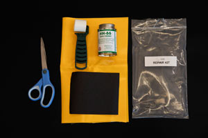 Vinyl Repair Kit Contents