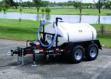 500 gallon water tank trailer