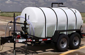 1000 gallon water tank trailer