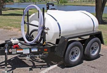 Water Trailer 500 Gallon