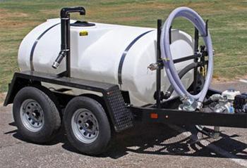 500 gallon water tank trailer